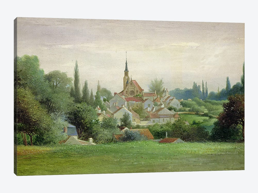 Verriere-le-Buisson, c.1880  by Eugene Bourrelier 1-piece Canvas Wall Art