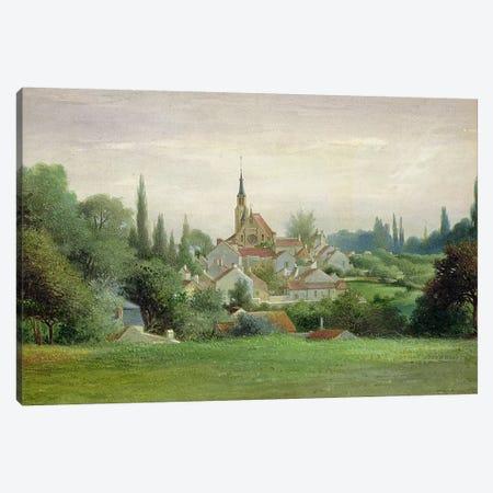 Verriere-le-Buisson, c.1880  Canvas Print #BMN2715} by Eugene Bourrelier Canvas Art Print