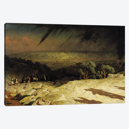 Jerusalem  Canvas Print #BMN2721} by Jean Leon Gerome Art Print