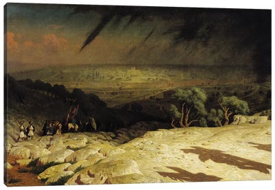 Jerusalem  Canvas Art Print