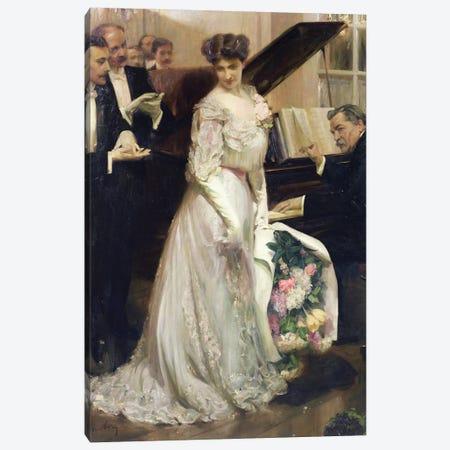 The Celebrated, 1906  Canvas Print #BMN2722} by Joseph Marius Avy Art Print