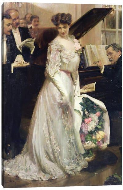 The Celebrated, 1906  Canvas Art Print