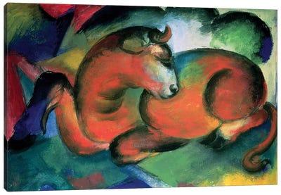 The Red Bull, 1912  Canvas Art Print