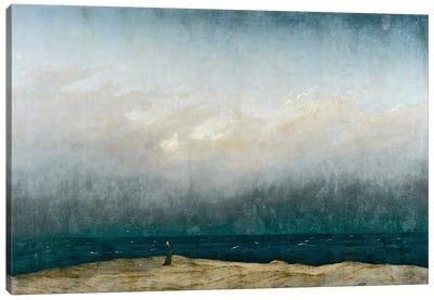 Monk by sea, 1809  Canvas Art Print