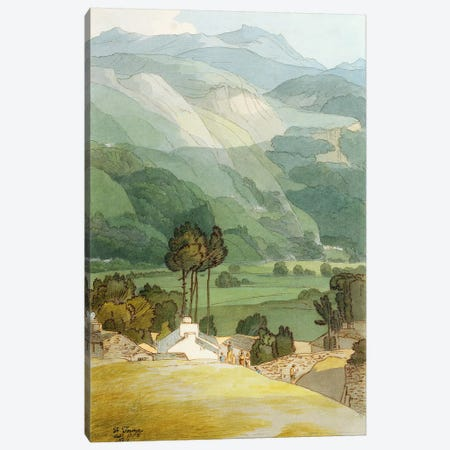 Ambleside, 1786  Canvas Print #BMN2748} by Francis Towne Art Print
