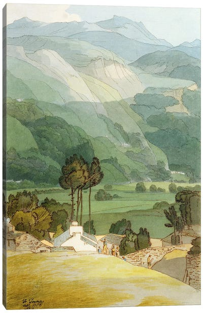 Ambleside, 1786  Canvas Art Print
