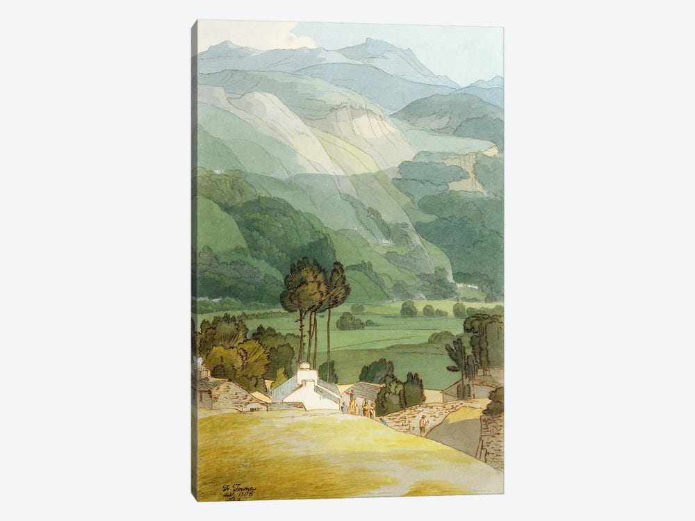 Ambleside, 1786 by Francis Towne 1-piece Canvas Art