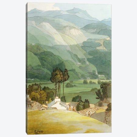 Ambleside, 1786  Canvas Print #BMN2748} by Francis Towne Art Print