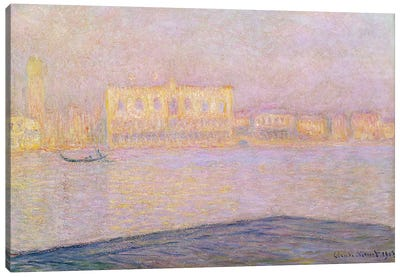 The Ducal Palace from San Giorgio, 1908 Canvas Art Print