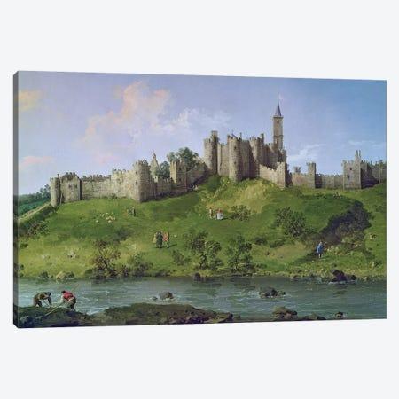 Alnwick Castle Canvas Print #BMN275} by Canaletto Canvas Artwork