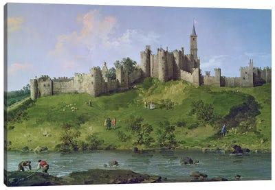 Alnwick Castle Canvas Art Print