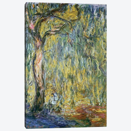 The Large Willow at Giverny, 1918  Canvas Print #BMN2766} by Claude Monet Canvas Wall Art