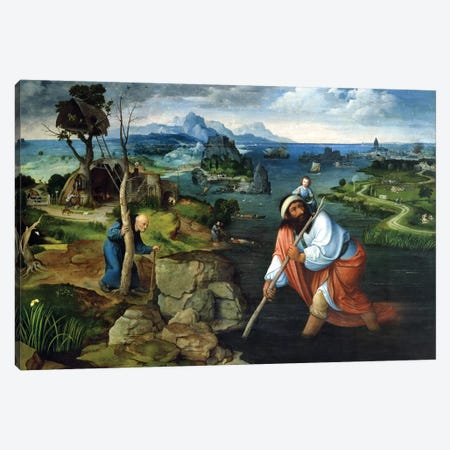 St. Christopher  Canvas Print #BMN2769} by Joachim Patinir Canvas Print
