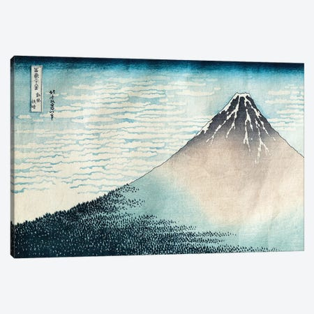 Fine Wind, Clear Morning (Red Fuji) c.1830-32 (Musee Guimet) Canvas Print #BMN2770} by Katsushika Hokusai Canvas Wall Art