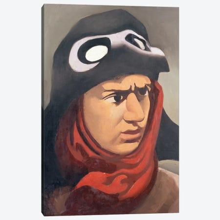 Portrait of Guynemer, 1921-23  Canvas Print #BMN2781} by Roger de la Fresnaye Art Print