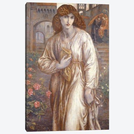 The Salutation  Canvas Print #BMN2794} by Dante Gabriel Charles Rossetti Art Print