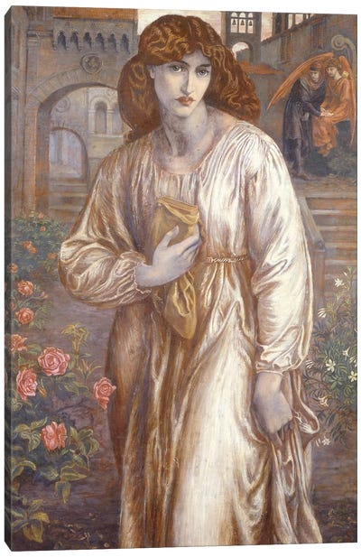 The Salutation  Canvas Art Print