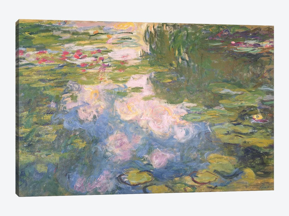 Nympheas, c.1919-22  by Claude Monet 1-piece Art Print