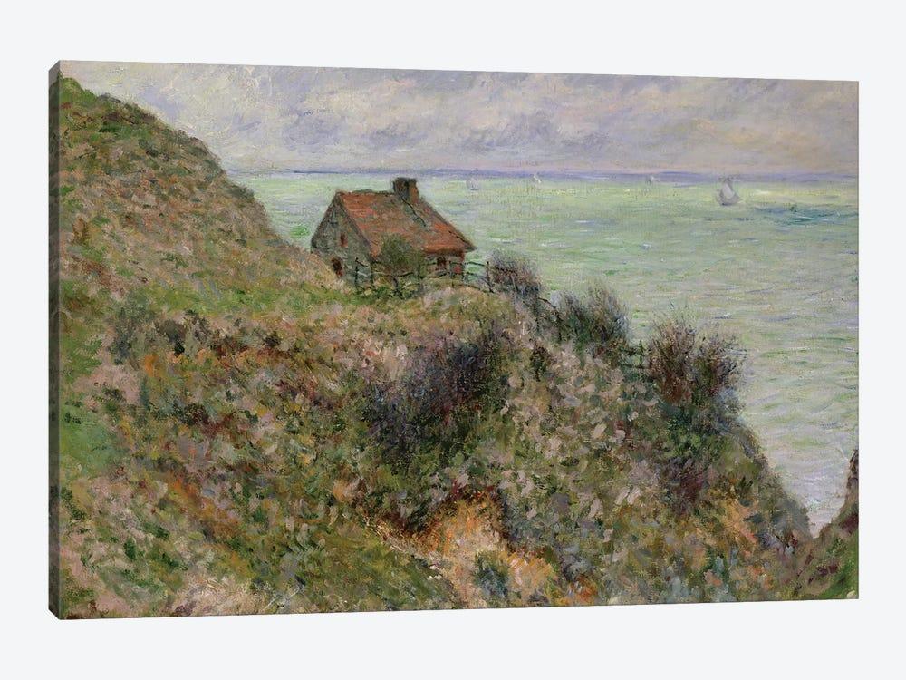The Customs Officers' Hut at Pourville, 1882  by Claude Monet 1-piece Canvas Print