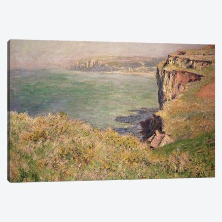 Cliff at Varengeville, 1882  Canvas Print #BMN2802} by Claude Monet Canvas Wall Art