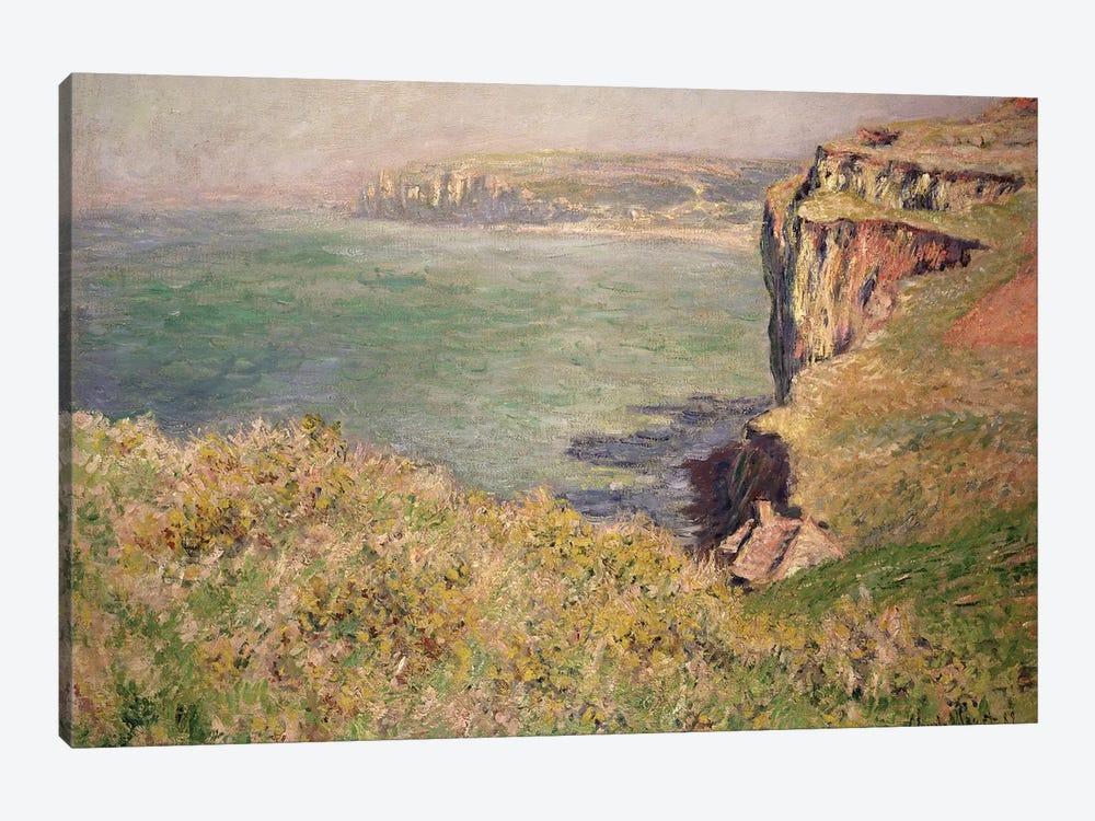 Cliff at Varengeville, 1882  by Claude Monet 1-piece Canvas Artwork