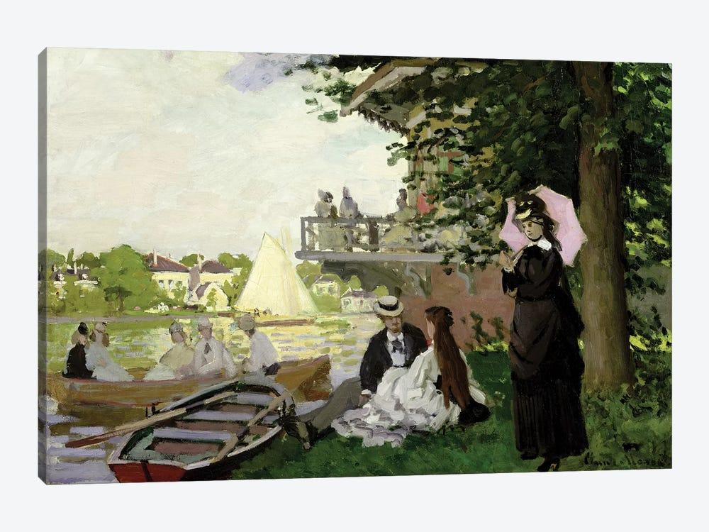 Garden House on the Zaan, Zaandam, 1871  by Claude Monet 1-piece Canvas Print