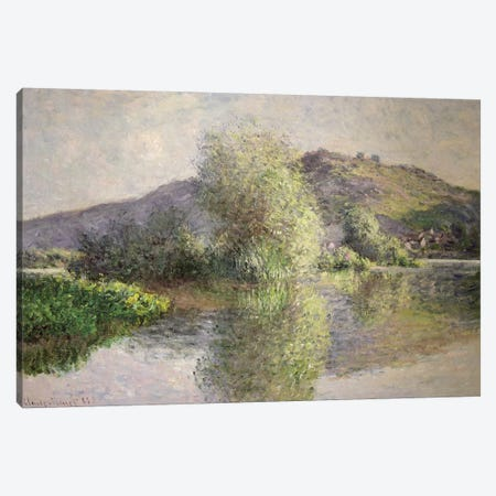 Little Islands at Port-Villez, 1883  Canvas Print #BMN2808} by Claude Monet Canvas Wall Art