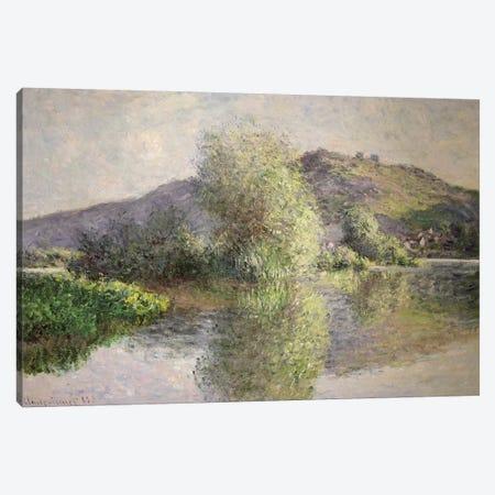 Little Islands at Port-Villez, 1883  Canvas Print #BMN2808} by Claude Monet Canvas Wall Art