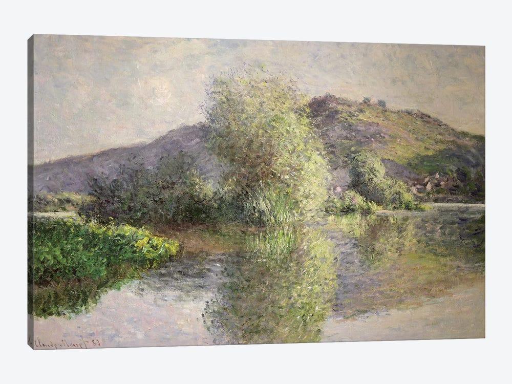 Little Islands at Port-Villez, 1883  by Claude Monet 1-piece Canvas Artwork