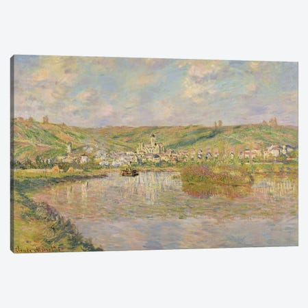 Late Afternoon, Vetheuil, 1880  Canvas Print #BMN2809} by Claude Monet Canvas Art