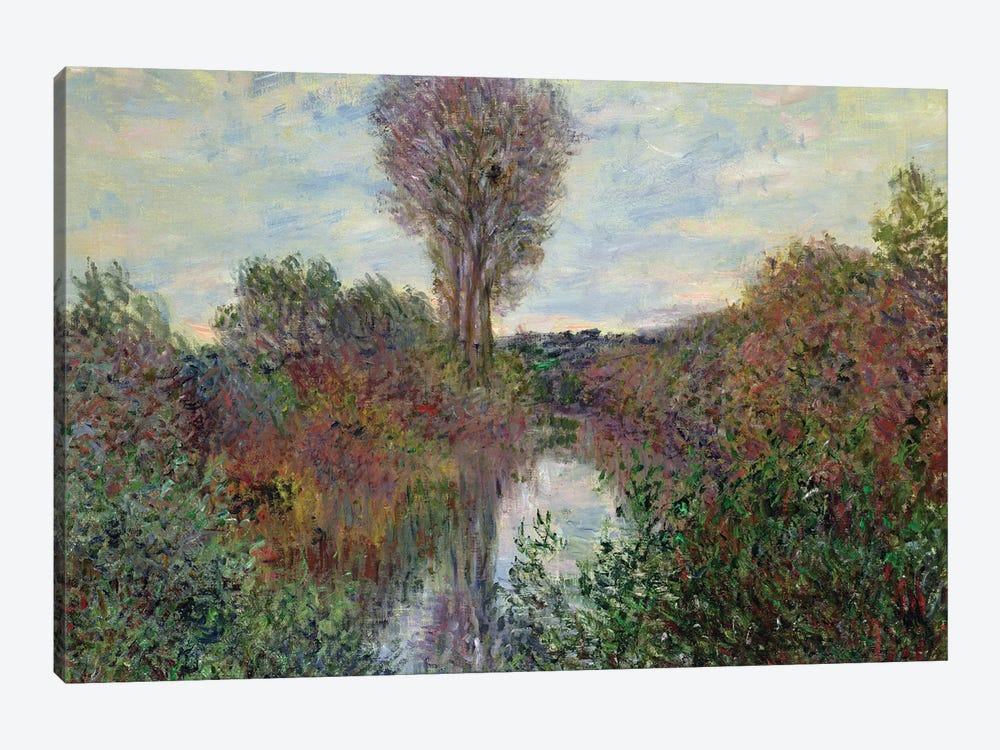 Small Branch of the Seine, 1878  by Claude Monet 1-piece Canvas Print