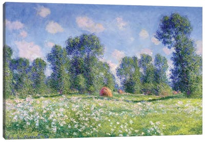 Effect of Spring, Giverny, 1890  Canvas Art Print