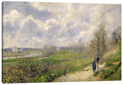 La Sente du Chou, near Pontoise, 1878  Canvas Print #BMN2816