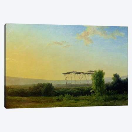 Roman Countryside  Canvas Print #BMN2817} by Pierre Henri de Valenciennes Canvas Art