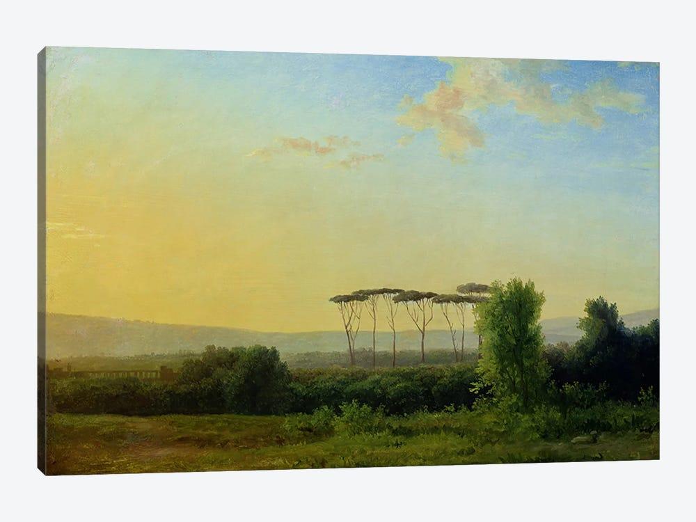 Roman Countryside  by Pierre Henri de Valenciennes 1-piece Canvas Wall Art