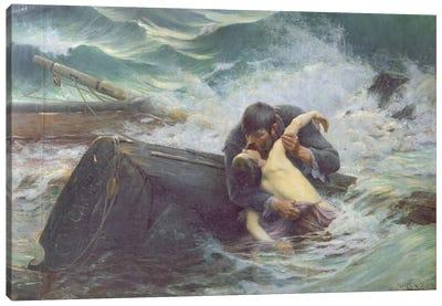 Adieu, 1892  Canvas Art Print