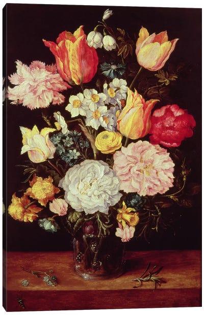 Flower Piece Canvas Art Print