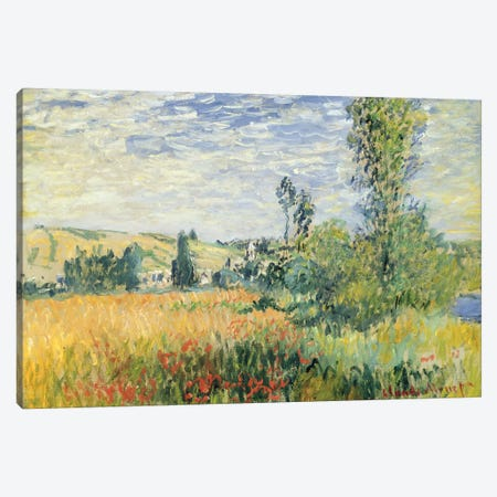 Vetheuil, c.1880  Canvas Print #BMN2821} by Claude Monet Canvas Wall Art