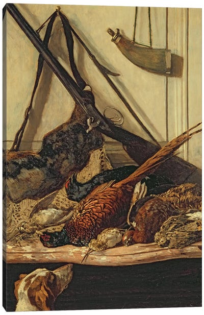 Hunting Trophies, 1862  Canvas Art Print