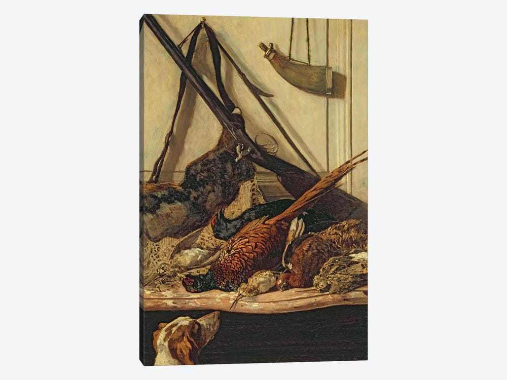Hunting Trophies, 1862  by Claude Monet 1-piece Canvas Artwork