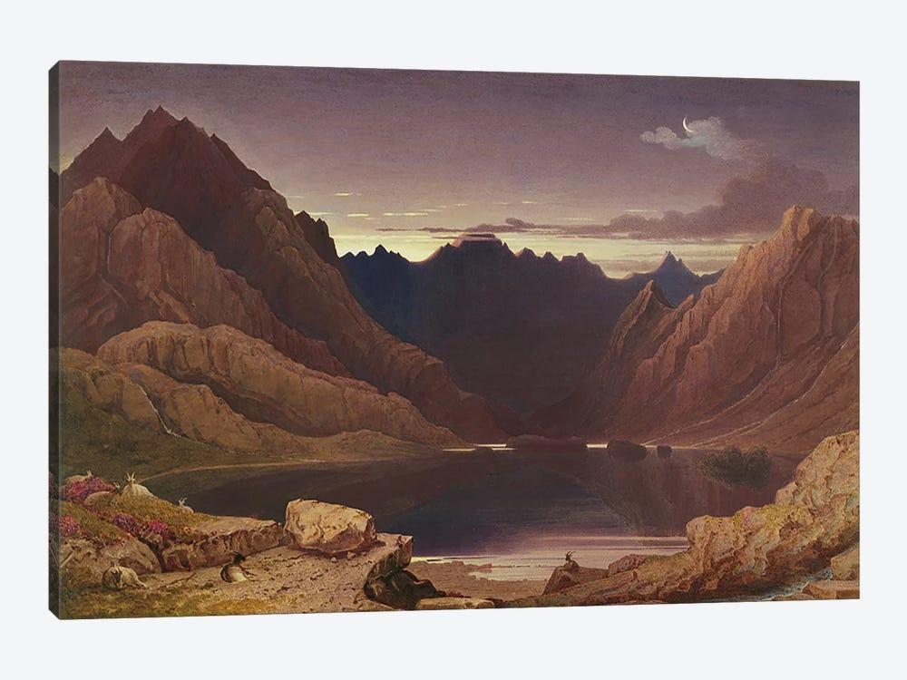 Loch Coruisk, Isle of Skye - Dawn, c.1826-32  by George Fennel Robson 1-piece Canvas Artwork