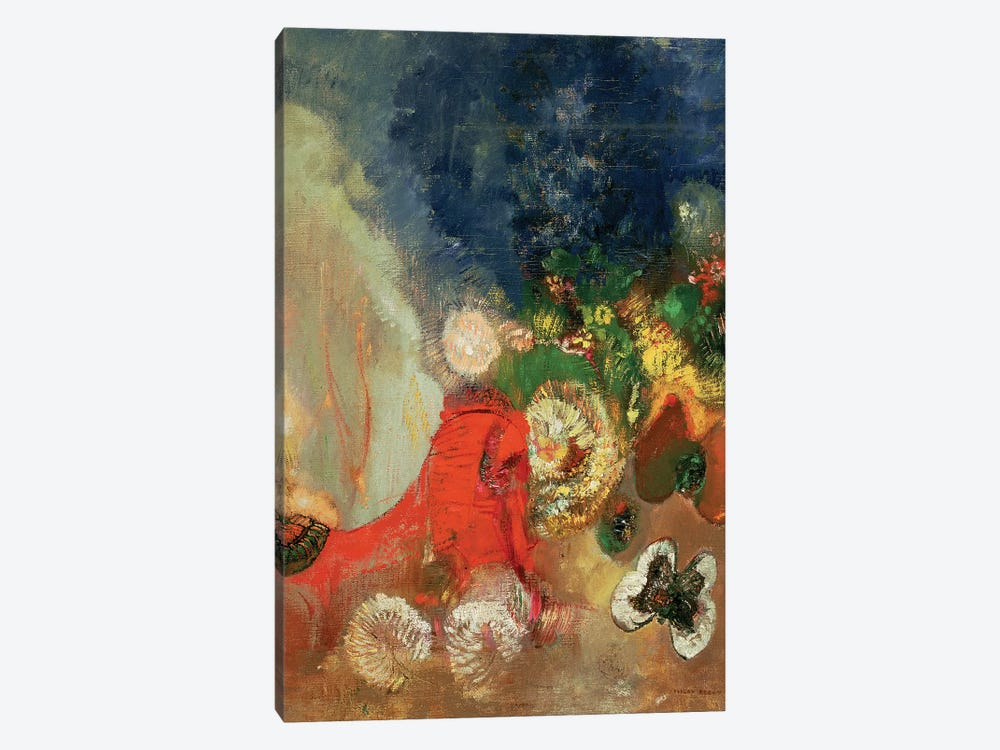 The Red Sphinx, c.1912  by Odilon Redon 1-piece Canvas Print
