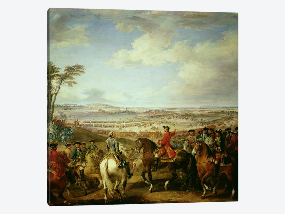 The Battle of Lawfeld, 2nd July 1747 1-piece Canvas Print