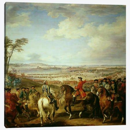 The Battle of Lawfeld, 2nd July 1747  Canvas Print #BMN2830} by Pierre Lenfant Canvas Print