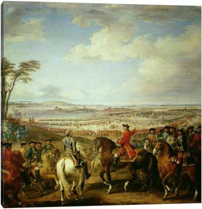 The Battle of Lawfeld, 2nd July 1747  Canvas Art Print
