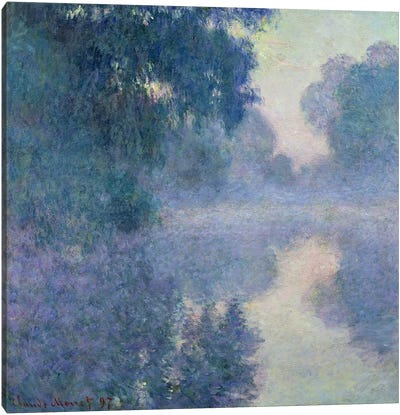 Branch of the Seine near Giverny, 1897 Canvas Art Print
