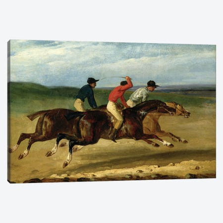 The Horse Race  Canvas Print #BMN2836} by Theodore Gericault Canvas Art