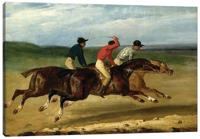 The Horse Race  Canvas Art Print