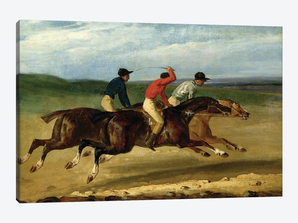The Horse Race  by Theodore Gericault 1-piece Art Print