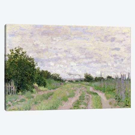 Path through the Vines, Argenteuil, 1872  Canvas Print #BMN2840} by Claude Monet Canvas Artwork